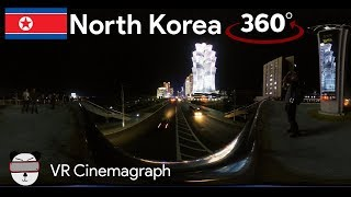 360° Cinemagraphs: Science Street | Pyongyang, North Korea