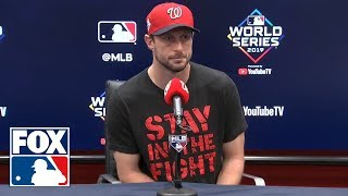 Max Scherzer addresses neck spasms: 'This is the most severe one of all time' | FOX MLB