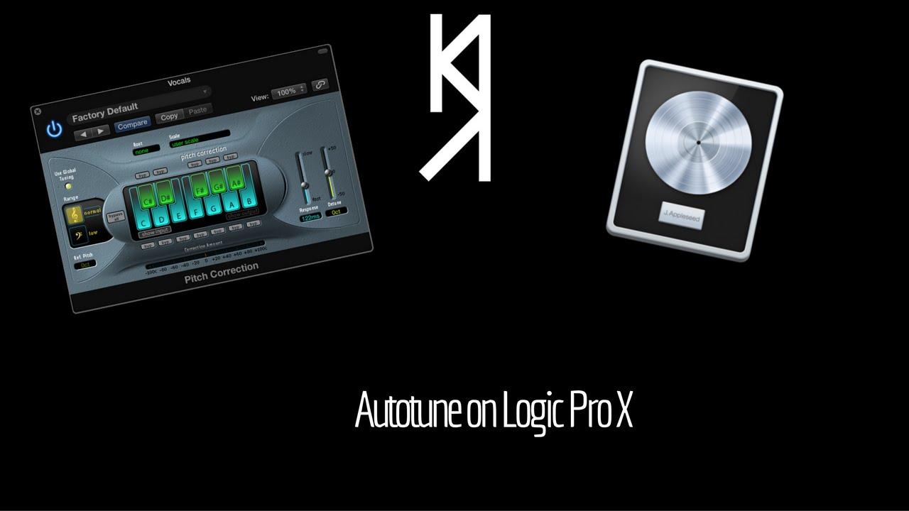 how to use autotune on logic pro x