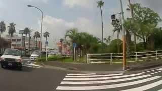 調所広郷という鹿児島藩の家老の像がある鴨池公園から喜入駅までの映像...