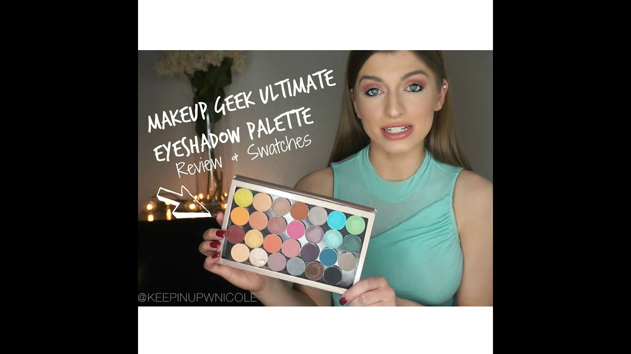 Makeup Geek Palette [REVIEW & SWATCHES] + BIG News! - YouTube