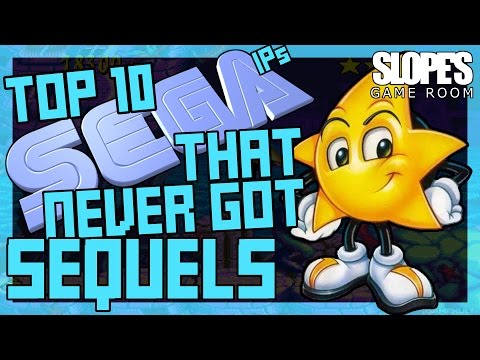 Top 10 Sega IP's that never got sequels - SGR (feat. Larry Bundy Jr)