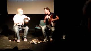 Bodhrán duett: Martin O'Neill and Cormac Byrne, Craiceann Bodhran Festival 2012
