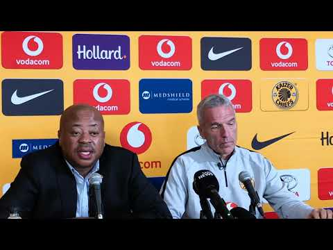 Kaizer Chiefs' Bobby Motaung and new coach Ernst Middendorp full presser 10/12/2018