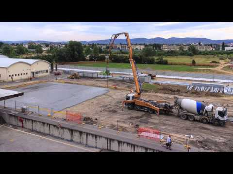 Time Lapse - Salvatore Ferragamo - Video Time Lapse Cantieri