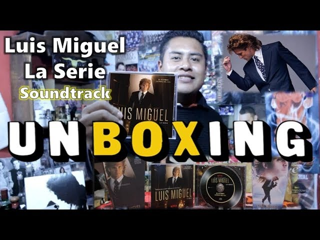 """UNBOXING - Luis Miguel La Serie """"Album SoundTrack"""" ¡CONCURSO! / Dani Jaguarcito #1"""