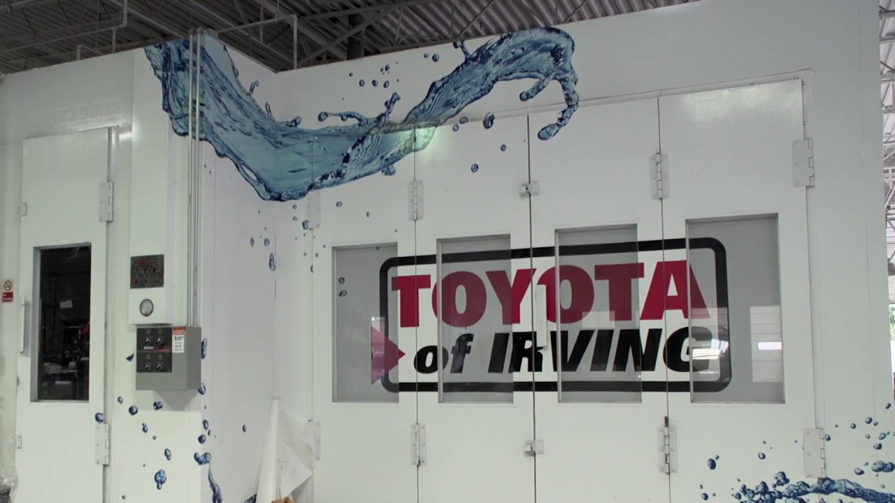 Toyota Of Irvingu0027s State Of The Art Collision Center