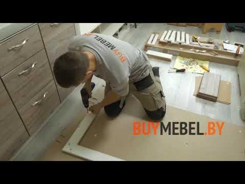Как собрать тумбу ТВ Оливия - магазин мебели БаймебельБай