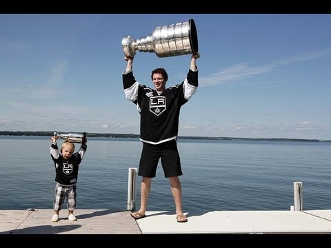L.A. Kings players' day with the Stanley Cup