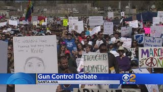Gun Control Debate In Orange County