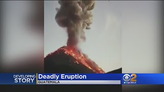 Deadly Guatemala volcanic eruption, popular teacher dies at Yosemit...