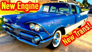 1959 Dodge Coronet First Highway Drive + New Engine and Transmission by Lunar Outlaw!!