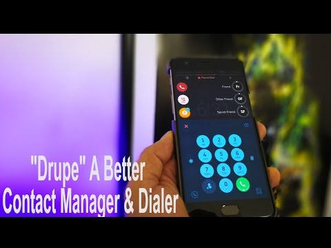 Drupe 3.0 Better Smarter (Contacts, Dialer. Call Recorder & Caller ID Than Your Stock Dialer)