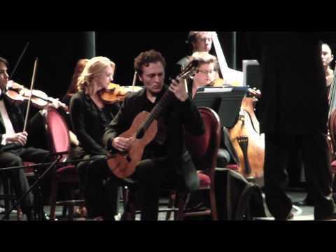 Giacomo La Vita, guitar. Danza de las Hachas; Fantasia para un Gentilhombre
