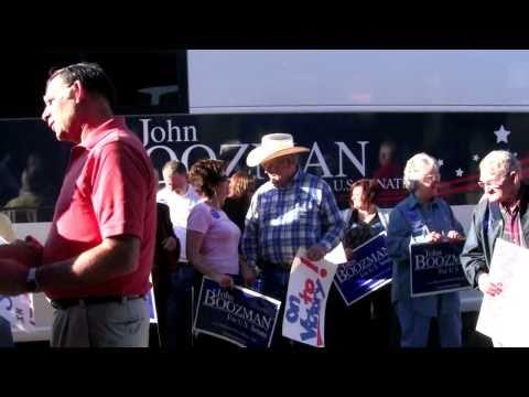 John Boozman Bus Tour