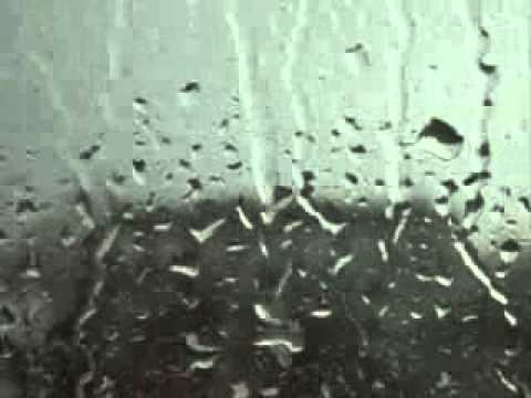 rain on a window youtube