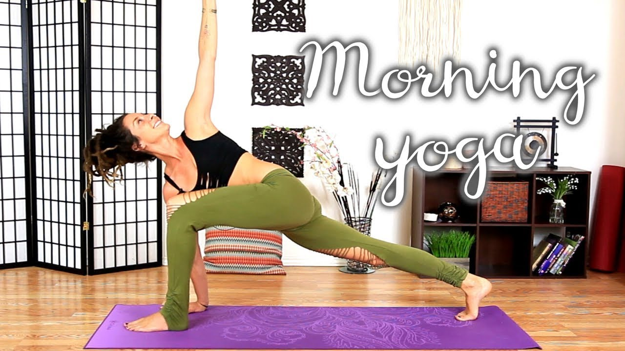 Morning Yoga 10 Minute Energizing Beginners Flow To Start Your Day Youtube