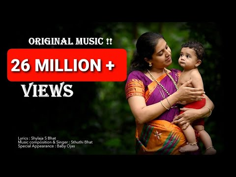Laali Haadu | Jo Jo Jogula | Indian KANNADA Lulluby | Baby Music | Sthuthi Bhat