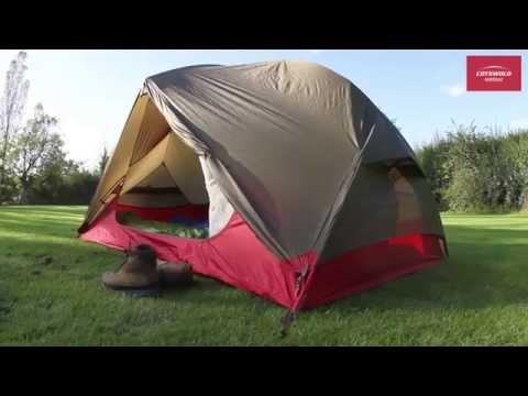 & MSR Hubba Hubba NX Tent - YouTube