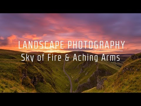 Sky of Fire and Aching Arms - Landscape Photography Vlog