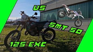 125 ccm vs 50 ccm 2 Stroke Power