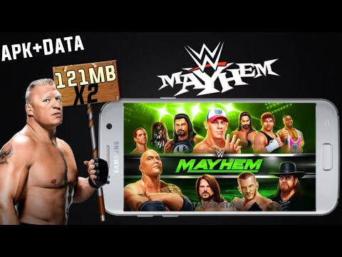 WWE MAYHEM Apk+Data || Highly Compressed Download For Android || Hindi 2017