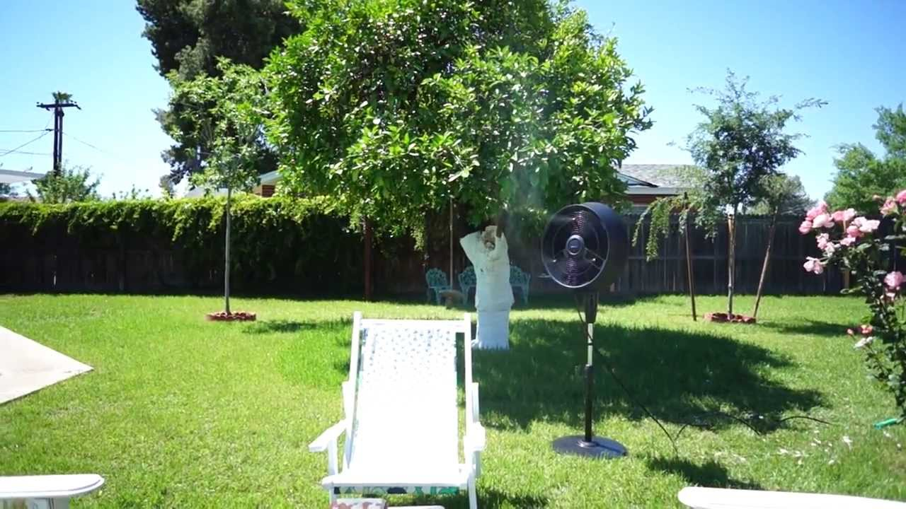 newair af520b outdoor misting fan review - Outdoor Misting Fan