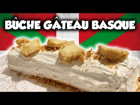 ma-bÛche-gÂteau-basque-:-crème-pâtissière,-rhum,-et-vanille-!!
