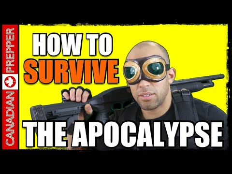 How to Survive the Apocalypse! W/ All American Prepper