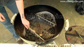 How to - Charcoal Kettle Barbecue Basics - No Recipe