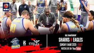 2019-20 BBL Championship: B. Braun Sheffield Sharks v Newcastle Eagles - 8 Mar 2020