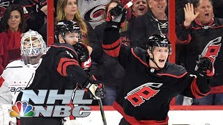 NHL Stanley Cup Playoffs 2019: Capitals vs. Hurricanes | Game 3 Highlights | NBC Sports
