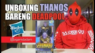 Review #35 - THANOS TITAN HEROES & BAF BY HASBRO FEAT DEDPOOL (RE-UPLOAD)