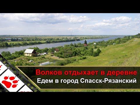 Волков отдыхает в деревне - Едем в город Спасск-Рязанский. Часть 2