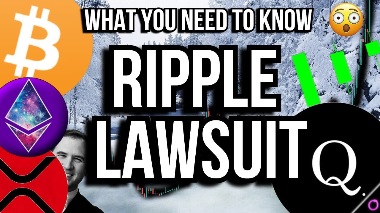 The BIGGEST lawsuit in Crypto XRP Ripple vs the SEC