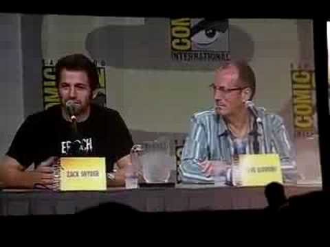 COMIC CON 2008: Watchmen question, how dark is the film?