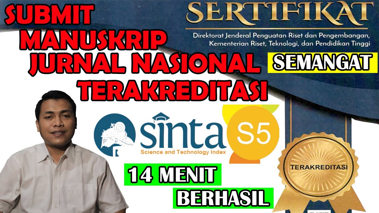 Submit Manuskrip OJS Jurnal Nasional Terakreditasi   e ...