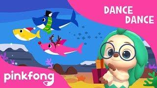 Christmas Sharks   Christmas Carol   Dance Dance   Pinkfong Songs for Children