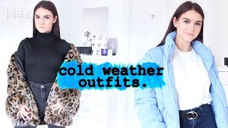 5 Winter Coats EVERY Woman NEEDS In Their Closet | HOW TO LOOK CUTE WHEN IT