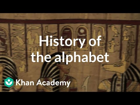 History of the alphabet | Journey into information theory | Computer Science | Khan Academy