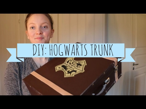 DIY: Hogwarts Trunk