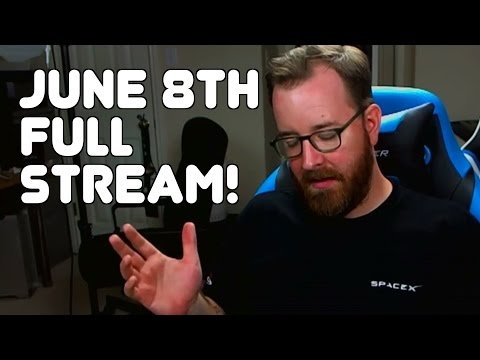 June 8th, 2016, Entire Twitch Stream with Jack! (Warden Wednesday!)