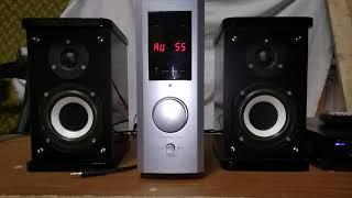 усилитель microlab Pro и акустика microlab 500