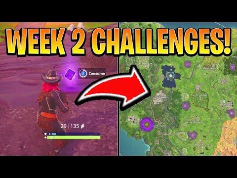 Fortnite Week 2 Challenges Guide Secret Banner Treasure Star