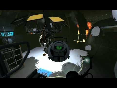 SPOILERS Portal 2: Rick The Adventure Sphere - YouTube