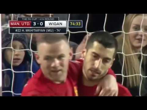Henrik Mxitaryan 2017 Goals Wigan