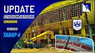 RENOVASI STADION JATI DIRI !!! SUDAH MEMASUKI TAHAP KEEMPAT, ATLETIK, FACADE,DAN PEMASANGAN ATAP