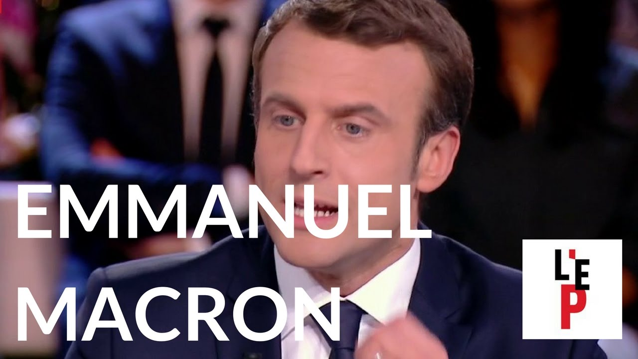 L'Emission politique avec Emmanuel Macron le 6 avril 2017 (France 2) - PART 2/4