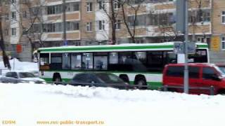 Buses in Moscow 10.02.2011(Buses in Moscow, February 2, 2011. You can also see new buses Fiat Ducato. Camera used: Canon PowerShot SX130 IS. На видео вы можете также увидеть ..., 2011-02-11T06:20:58.000Z)