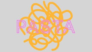 New Rules - Pasta (Lyric Video)